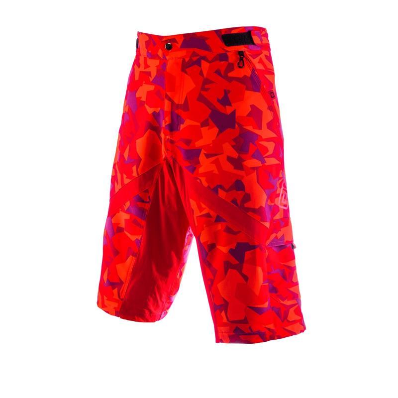 O'Neal Herren Downhill Shorts Slickrock Camouflage, Rot