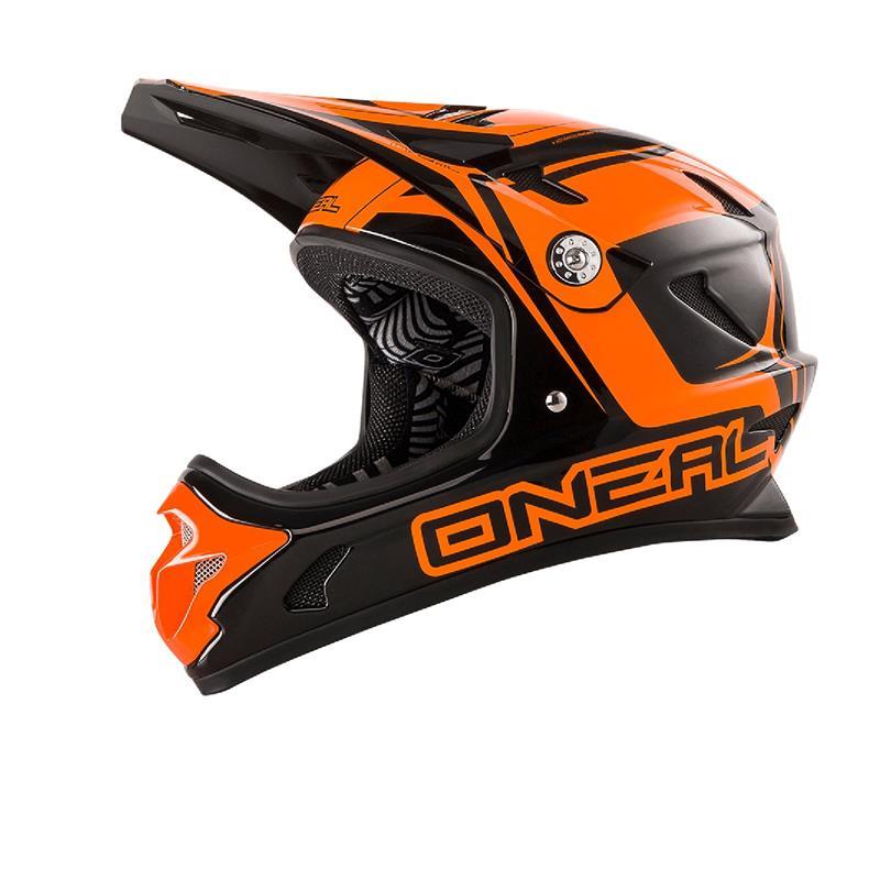 O'Neal Fullfacehelm Spark Fidlock DH Steel, Orange