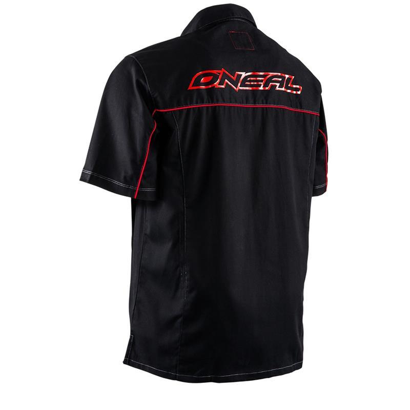 O'NEAL Unisex Hemd Worker Shirt, Schwarz