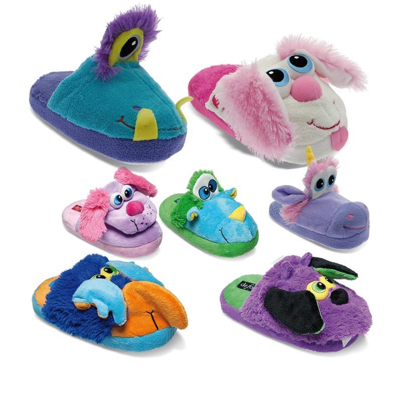 Tierhausschuhe Kinder Hausschuhe Pump It Action