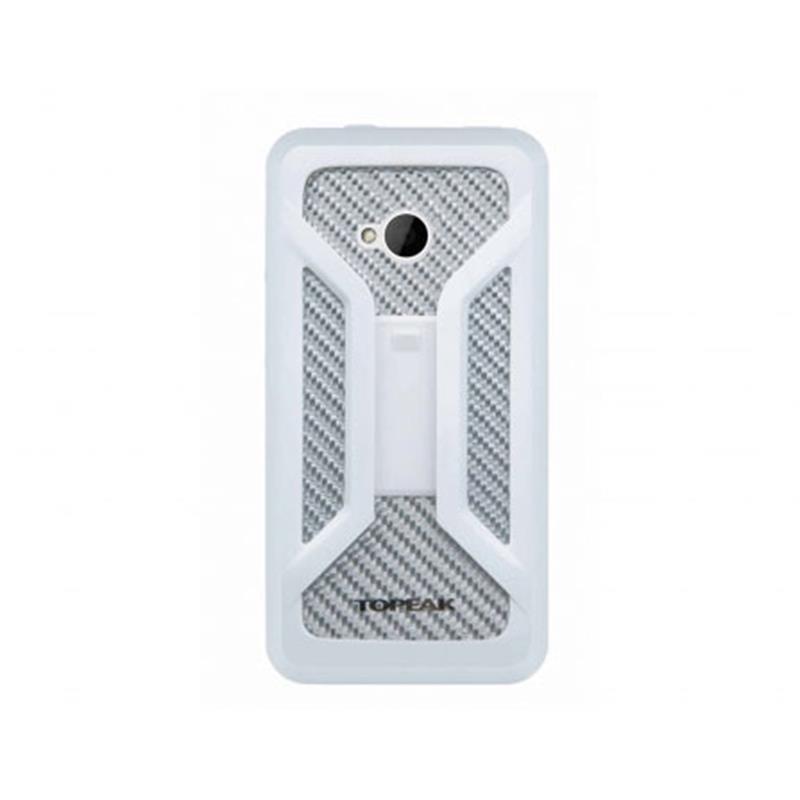 Topeak Handyhülle & Halterung Ride Case Kompatibel mit HTC One, Weiß