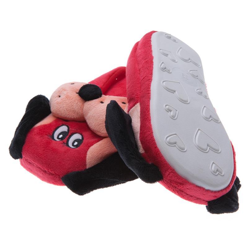 SAMs Kinder Tierhausschuhe Hund, Rot