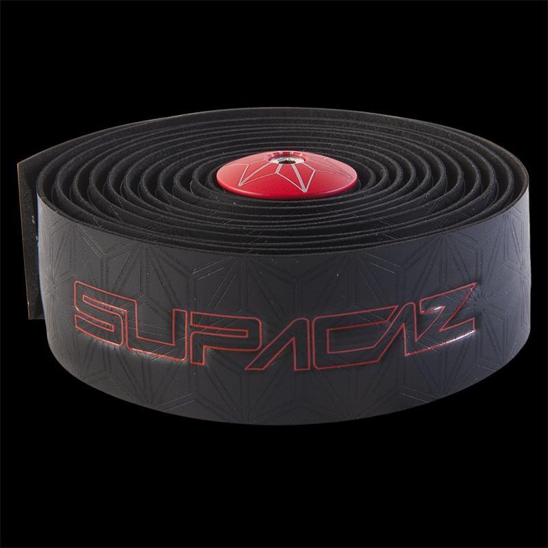 Supacaz Lenkerband Super Sticky Kush, Schwarz Rot