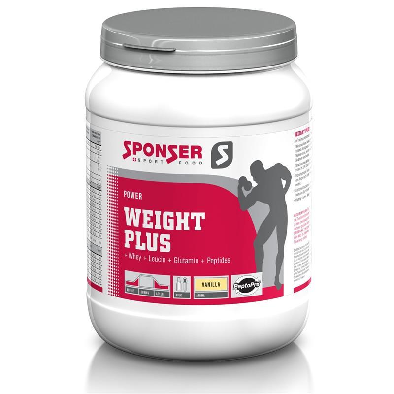 Sponser Weight Plus Vanille, 900g
