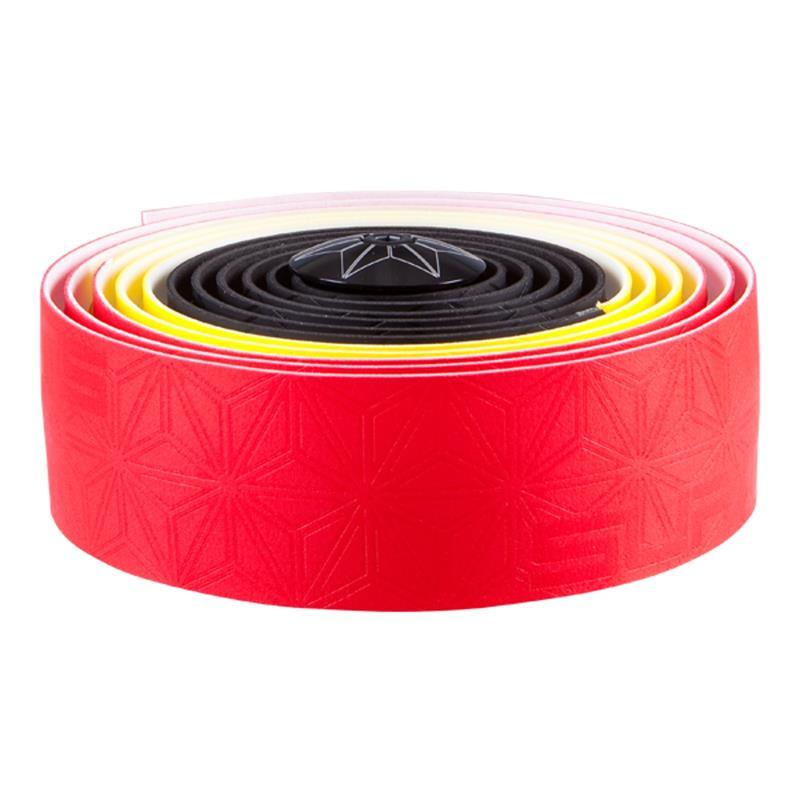 Supacaz Lenkerband Super Sticky Kush Belgium, Rot Gelb Schwarz