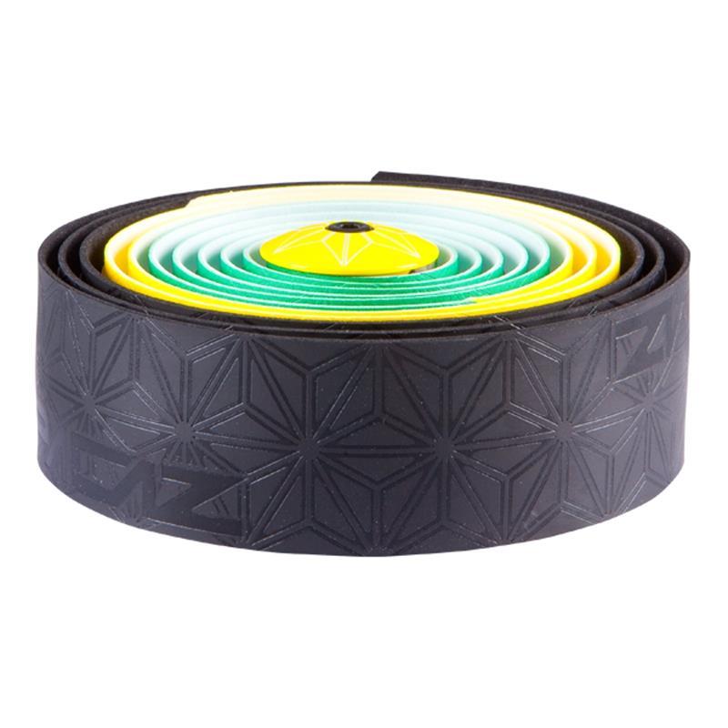 Supacaz Lenkerband Super Sticky Kush Jamaica, Schwarz Gelb Grün