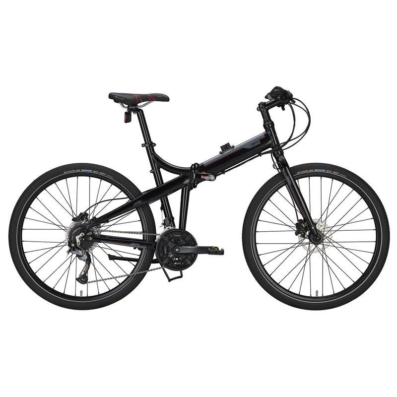 "Tern Unisex Fahrrad Joe P27 Faltrad, Schwarz Rot, 27 Gang, 27"""
