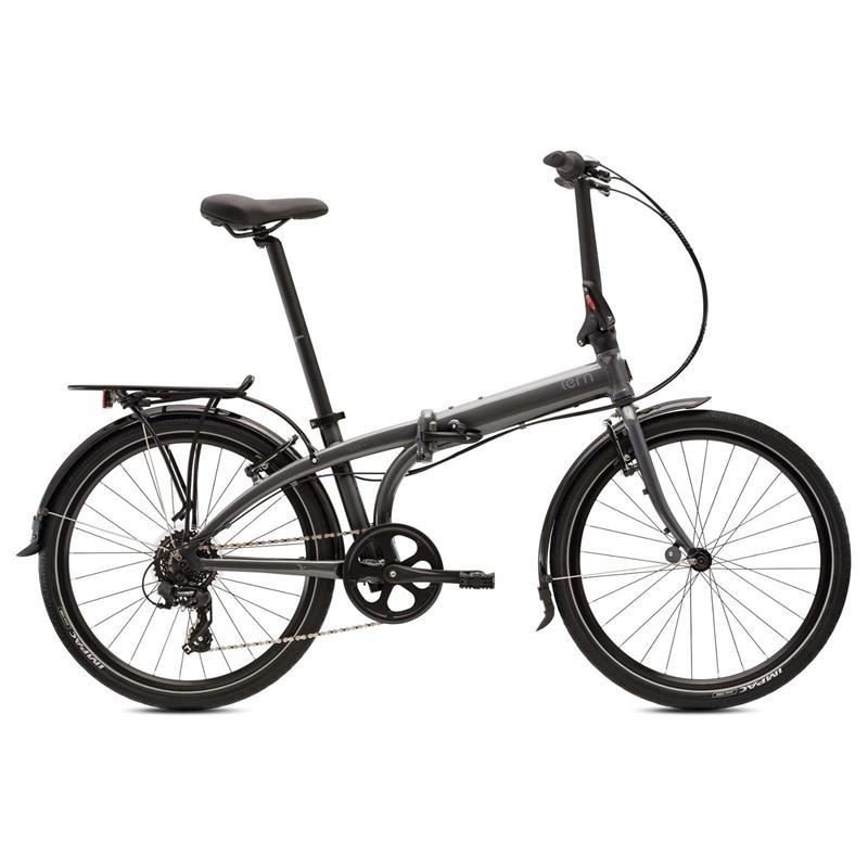 "Tern Unisex Fahrrad Node C8 MO Faltrad, Grau, 8 Gang, 24"""