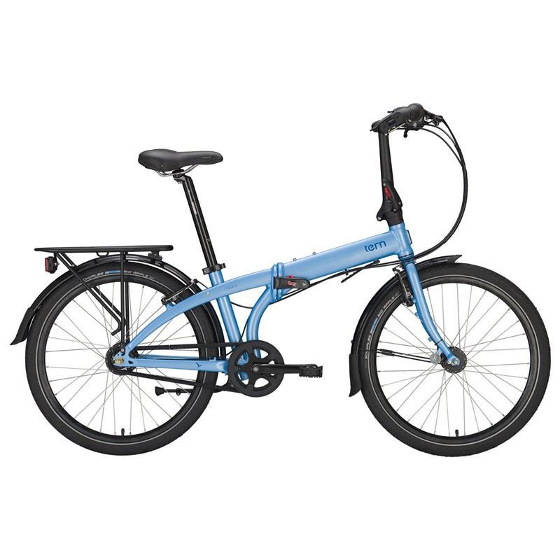 """Tern Unisex Fahrrad Node D7i DR Faltrad, Blau, 7 Gang, 24"""""""