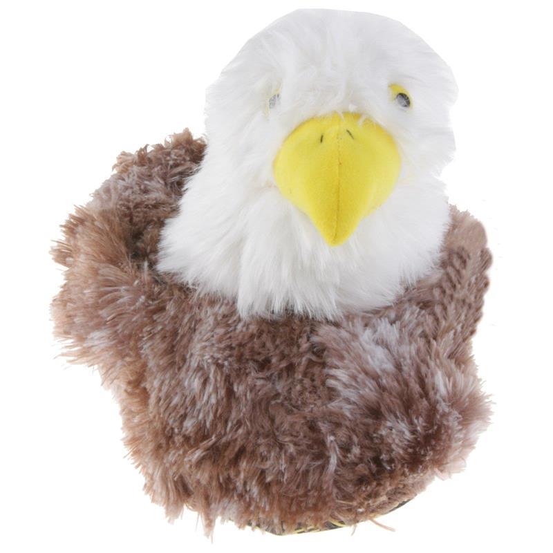Tierhausschuhe Unisex Hausschuhe Weißkopfseeadler, Braun