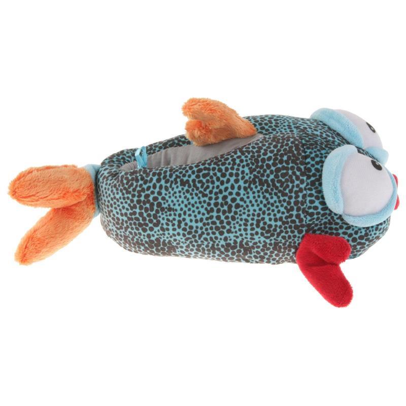 Tierhausschuhe Kinder Hausschuhe Fisch, Blau