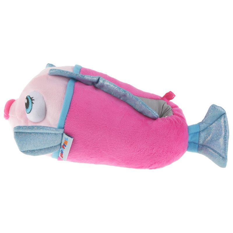 Tierhausschuhe Kinder Hausschuhe Fisch, Rosa