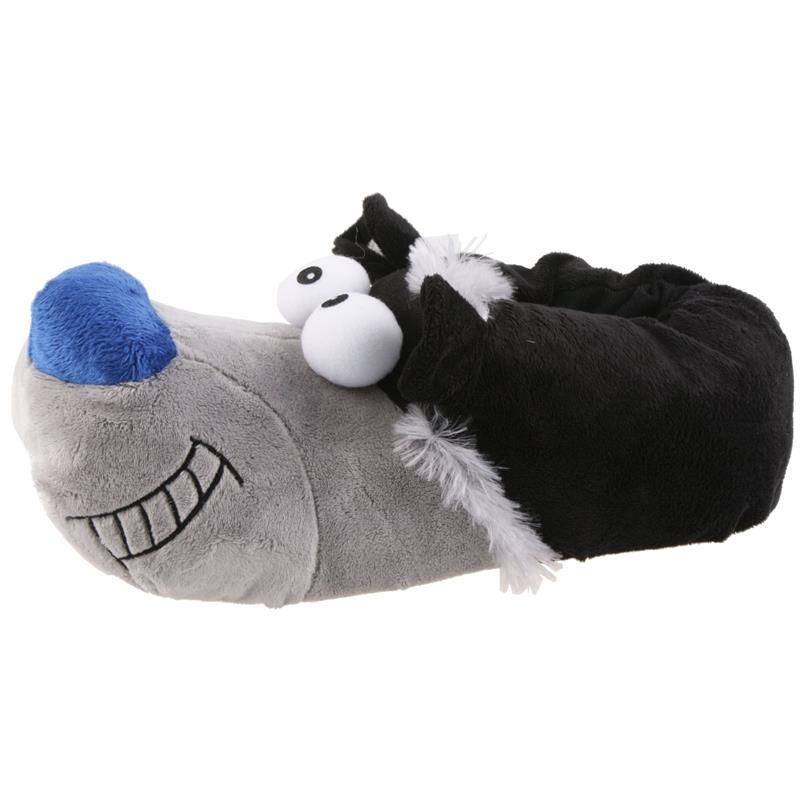 SAMs Herren Tierhausschuhe Hund, Schwarz