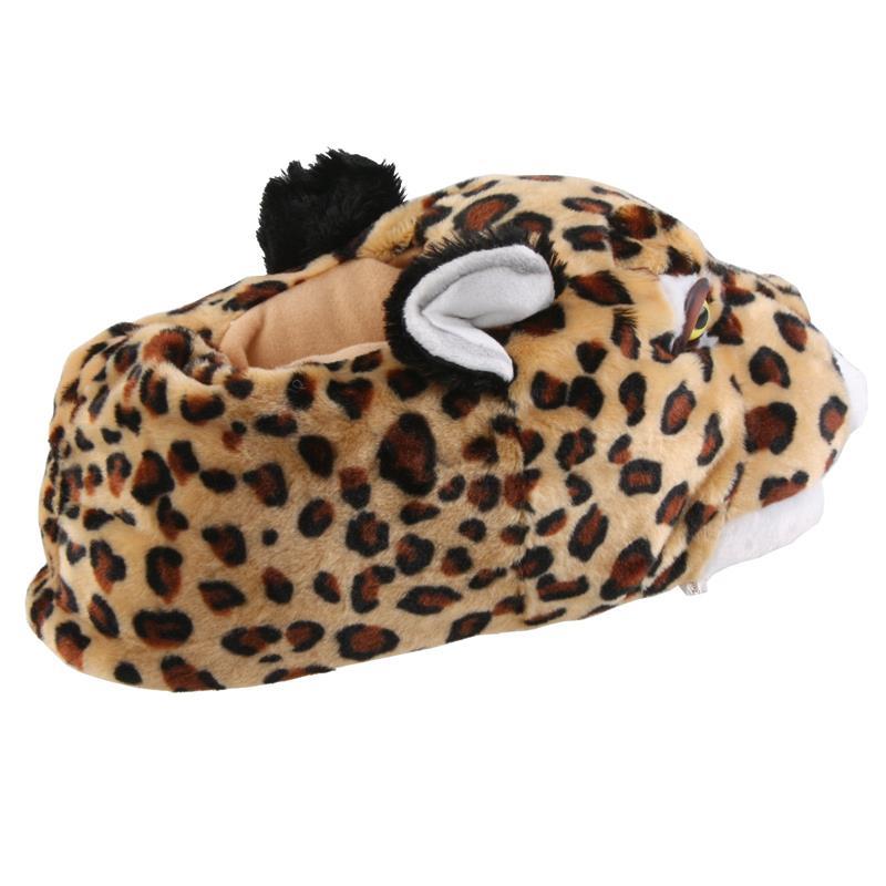 SAMs Herren Tierhausschuhe Leopard, Beige