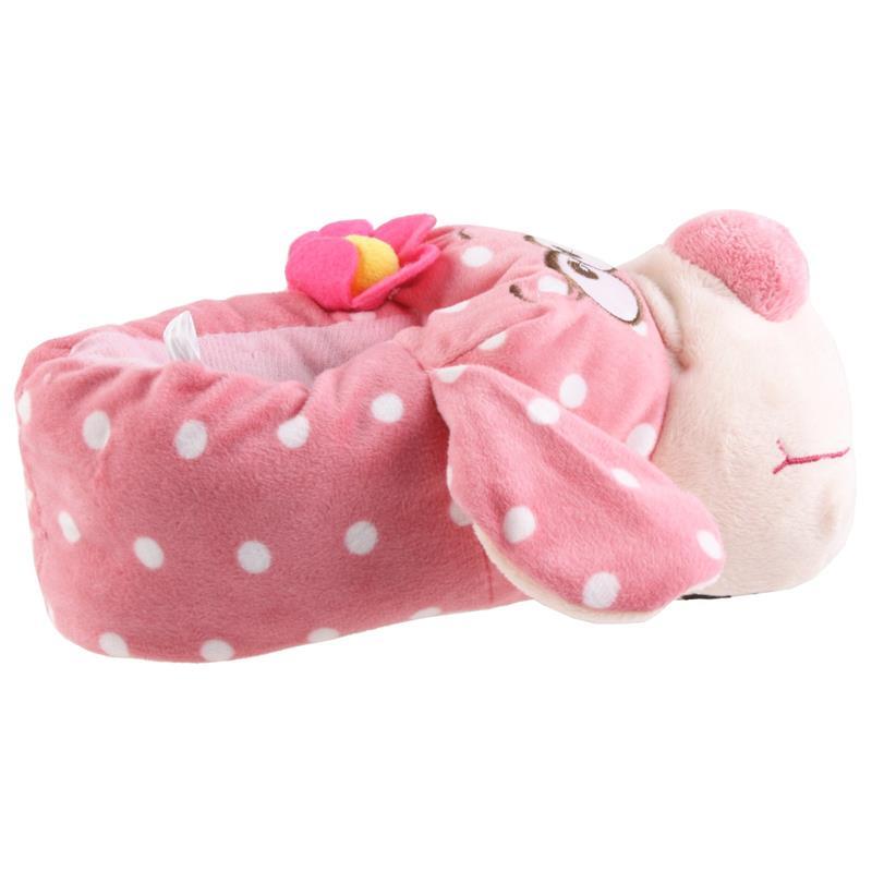 SAMs Damen Tierhausschuhe Verliebter Hund, Pink