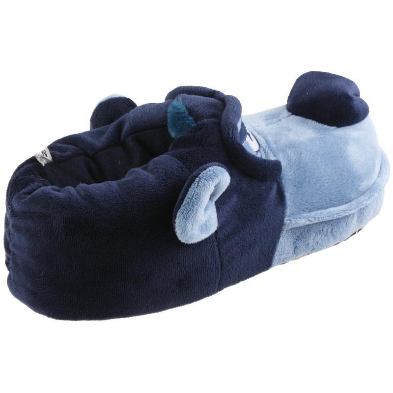 Tierhausschuhe Hausschuhe Hund Grimmig, Blau