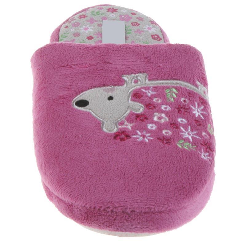 Tierhausschuhe Kinder Hausschuhe Igel, Rosa