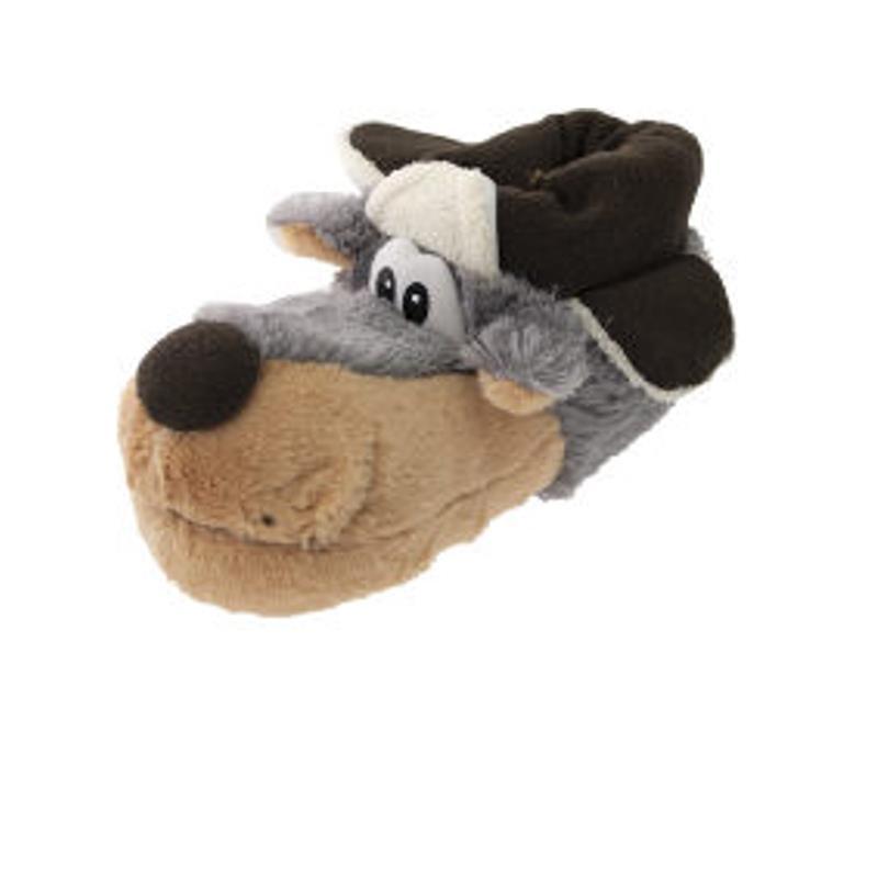 SAMs Herren Tierhausschuhe Jagdhund, Grau