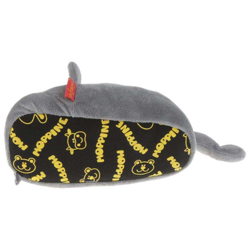Tierhausschuhe Hausschuhe Katze, Grau
