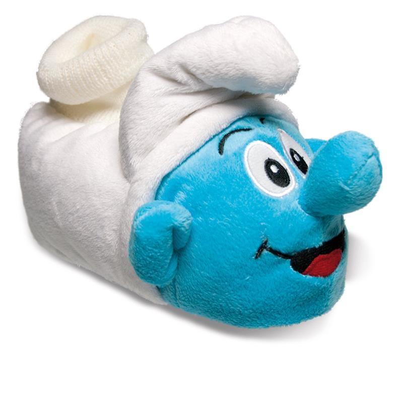 SAMs Kinder Hausschuhe Die Schlümpfe, Blau