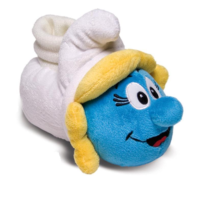 SAMs Kinder Hausschuhe Schlümpfe Schlumpfine, Blau