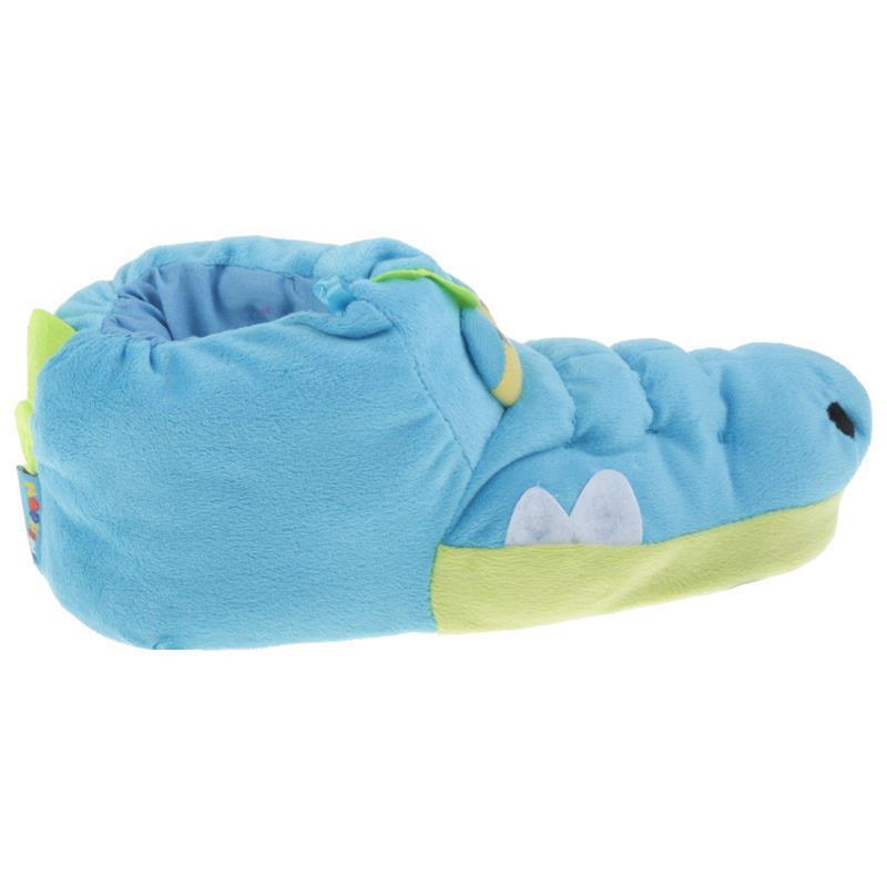 Tierhausschuhe Unisex Hausschuhe Krokodil, Blau
