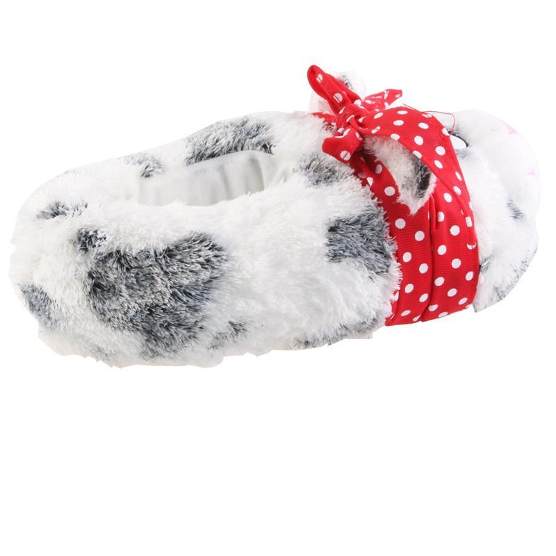 SAMs Tierhausschuhe Katze mit Schleife, Grau