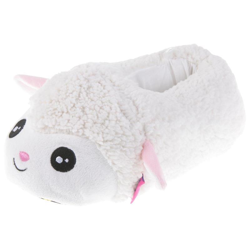 Tierhausschuhe Kinder Hausschuhe Lamm, Weiß