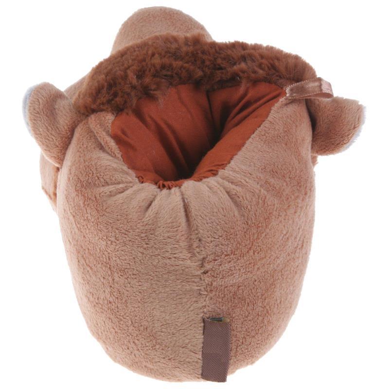 Tierhausschuhe Kinder Hausschuhe Löwe, Beige