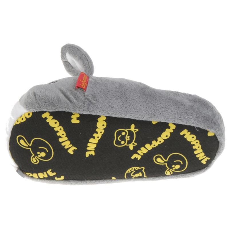 Tierhausschuhe Kinder Hausschuhe Maus, Grau