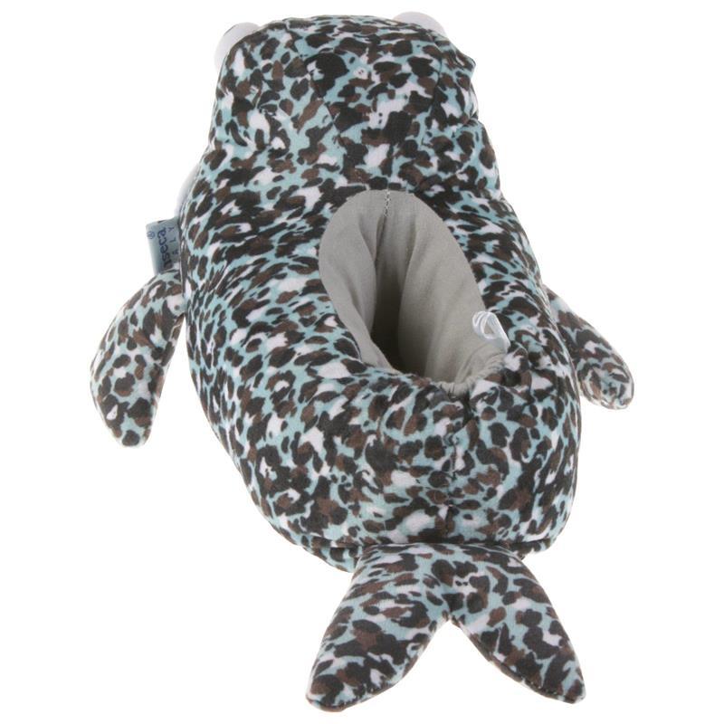 Tierhausschuhe Kinder Hausschuhe Robbe, Blau