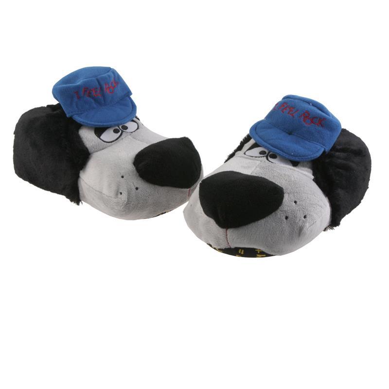 SAMs Herren Tierhausschuhe Hund Cap, Blau