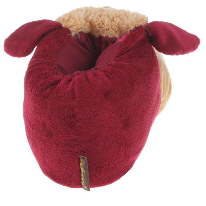 Tierhausschuhe Herren Hausschuhe Stier, Rot