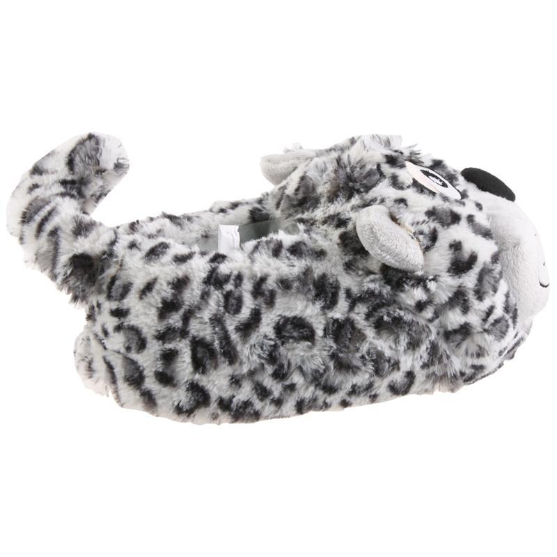 SAMs Tierhausschuhe Katze, Grau