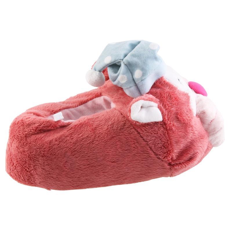 Tierhausschuhe Hausschuhe Katze, Pink
