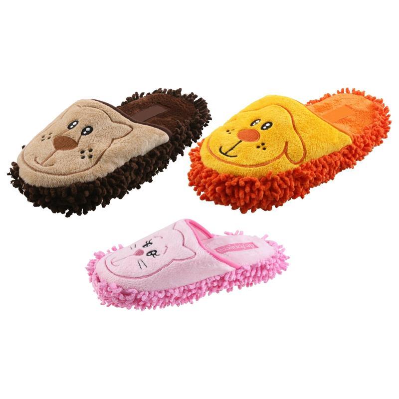 Tierhausschuhe Kinder Hausschuhe Putzmuffel