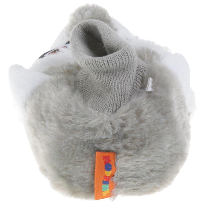 Tierhausschuhe Kinder Hausschuhe Waschbär, Grau