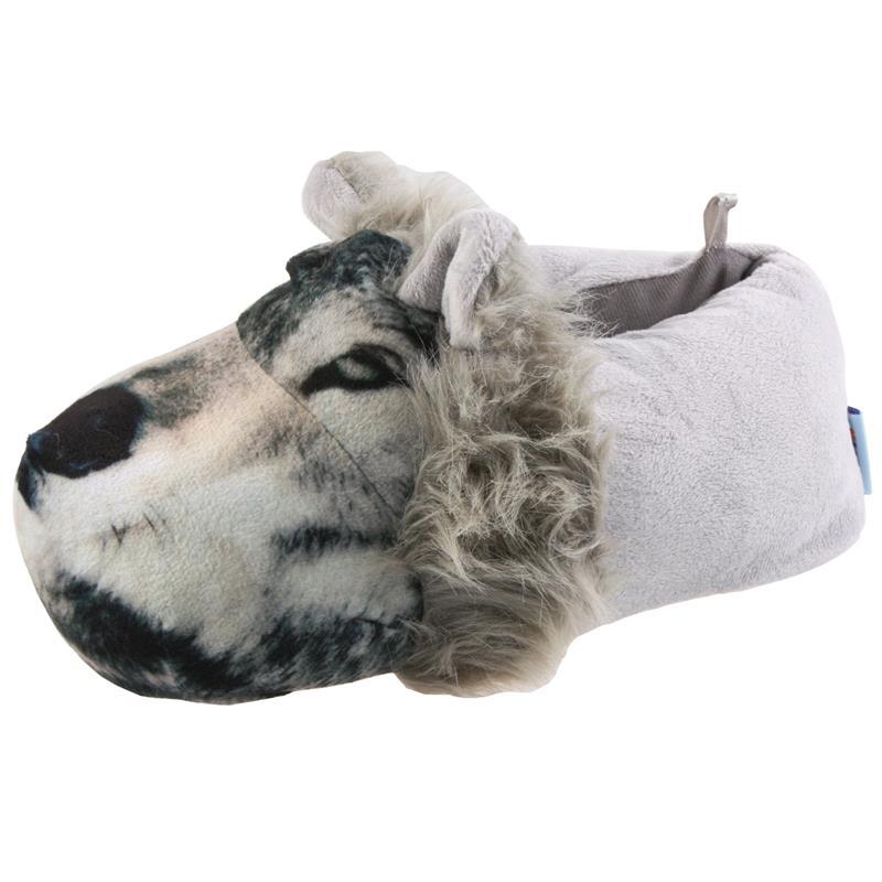 SAMs Unisex Tierhausschuhe Wolf, Grau