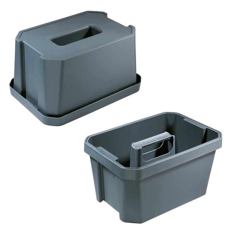 Topeak Sitzhocker BucketSeat für PrepStation, Schwarz
