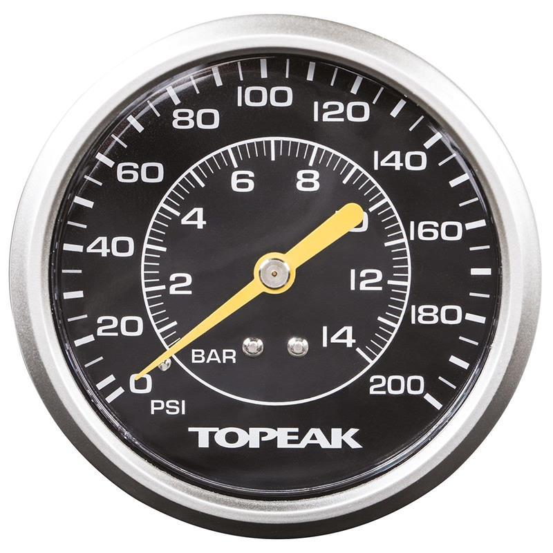 Topeak Standpumpe JoeBlow Twin Turbo, Schwarz
