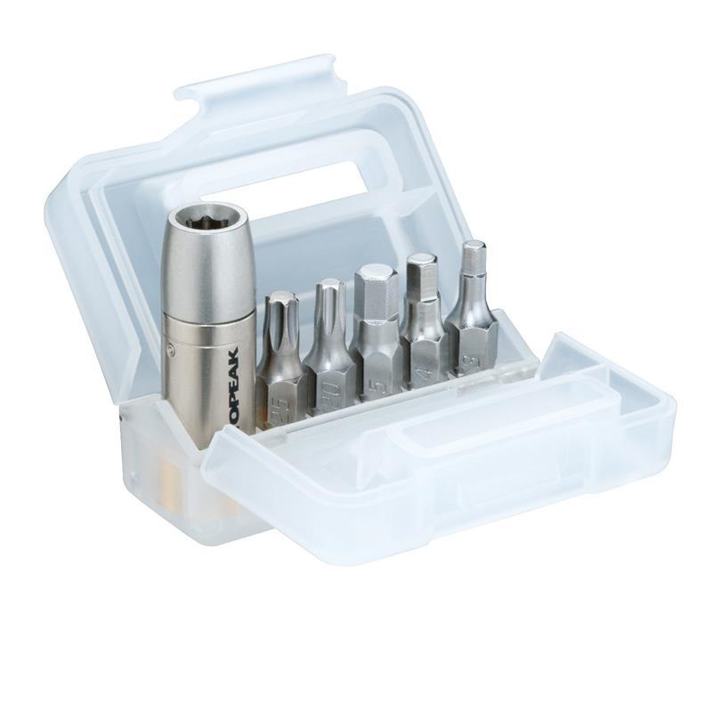 Topeak Drehmomentschlüssel Nano Torqbox, Silber
