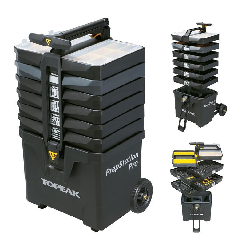 Topeak Werkzeugkoffer PrepStation Profi, Schwarz