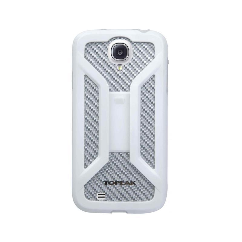 Topeak Handyhülle Ride Case Kompatibel mit Samsung Galaxy S4, Weiß