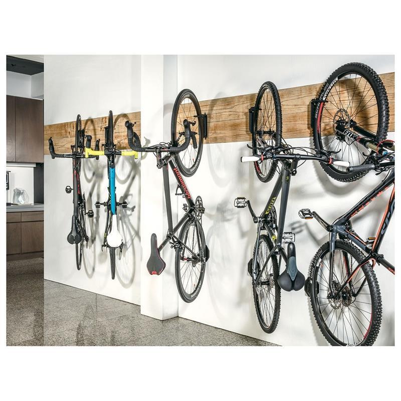 Topeak Fahrrad Wandhalterung SwingUp EX Bike Holder, Schwarz