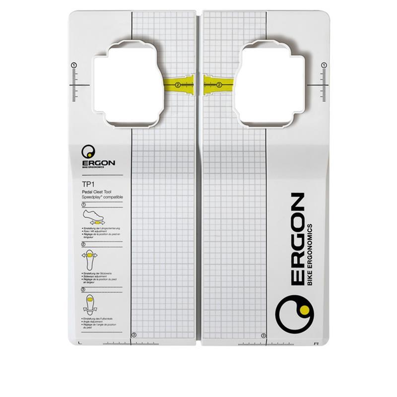 Ergon Pedale TP1 Cleat-Tool Speedplay, Grau