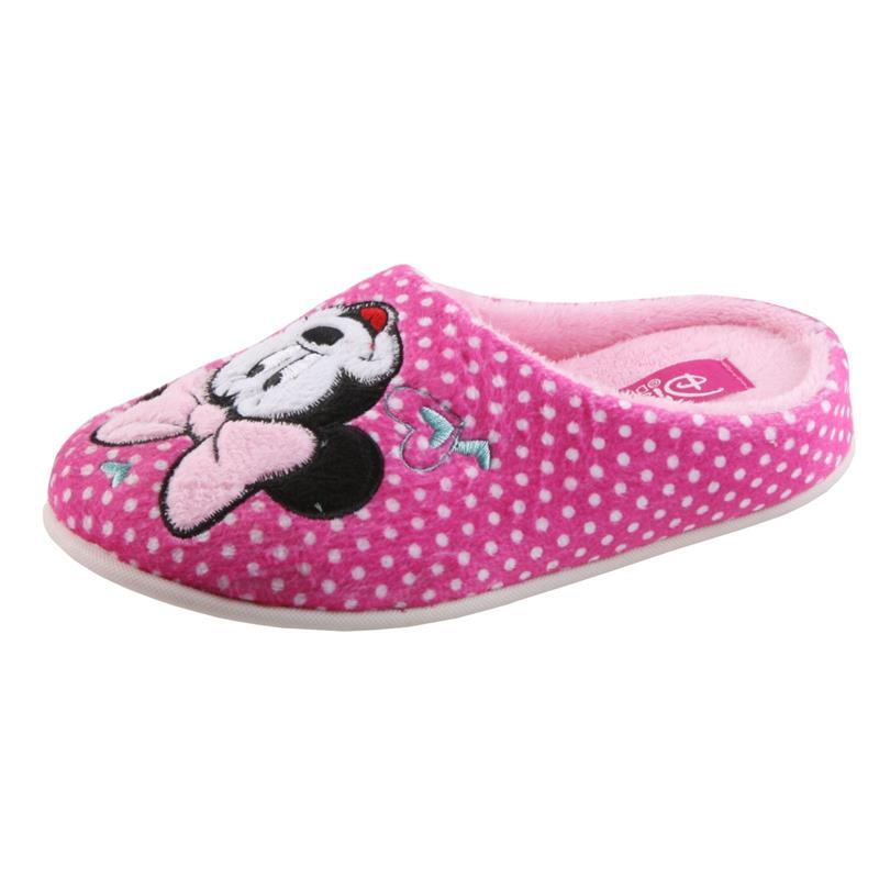 Tierhausschuhe Kinder Hausschuhe Disney Minnie Maus