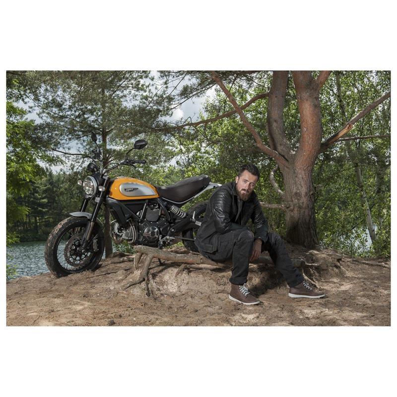 Trilobite Herren Motorradjeans Acid Scrambler, Schwarz, L32