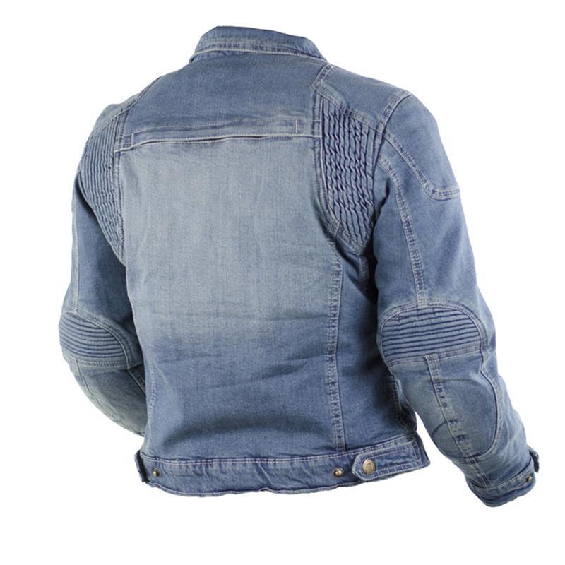Trilobite Damen Jeans Motorradjacke Parado, Blau