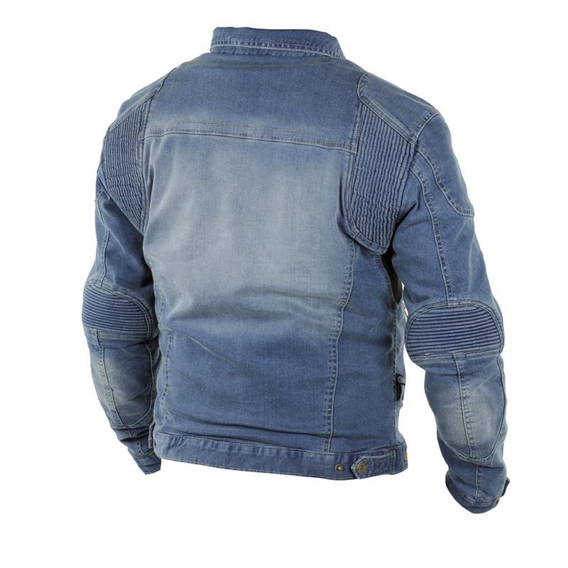 Trilobite Herren Jeans Motorradjacke Parado, Blau