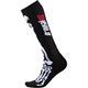O'Neal Unisex Socken Pro MX XRay Skull, Schwarz